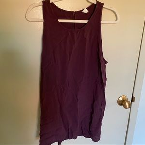 Tank top , back teardrop with botton